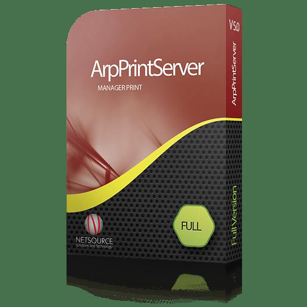 ArpPrintServer Controle impressoras em rede ou locais.