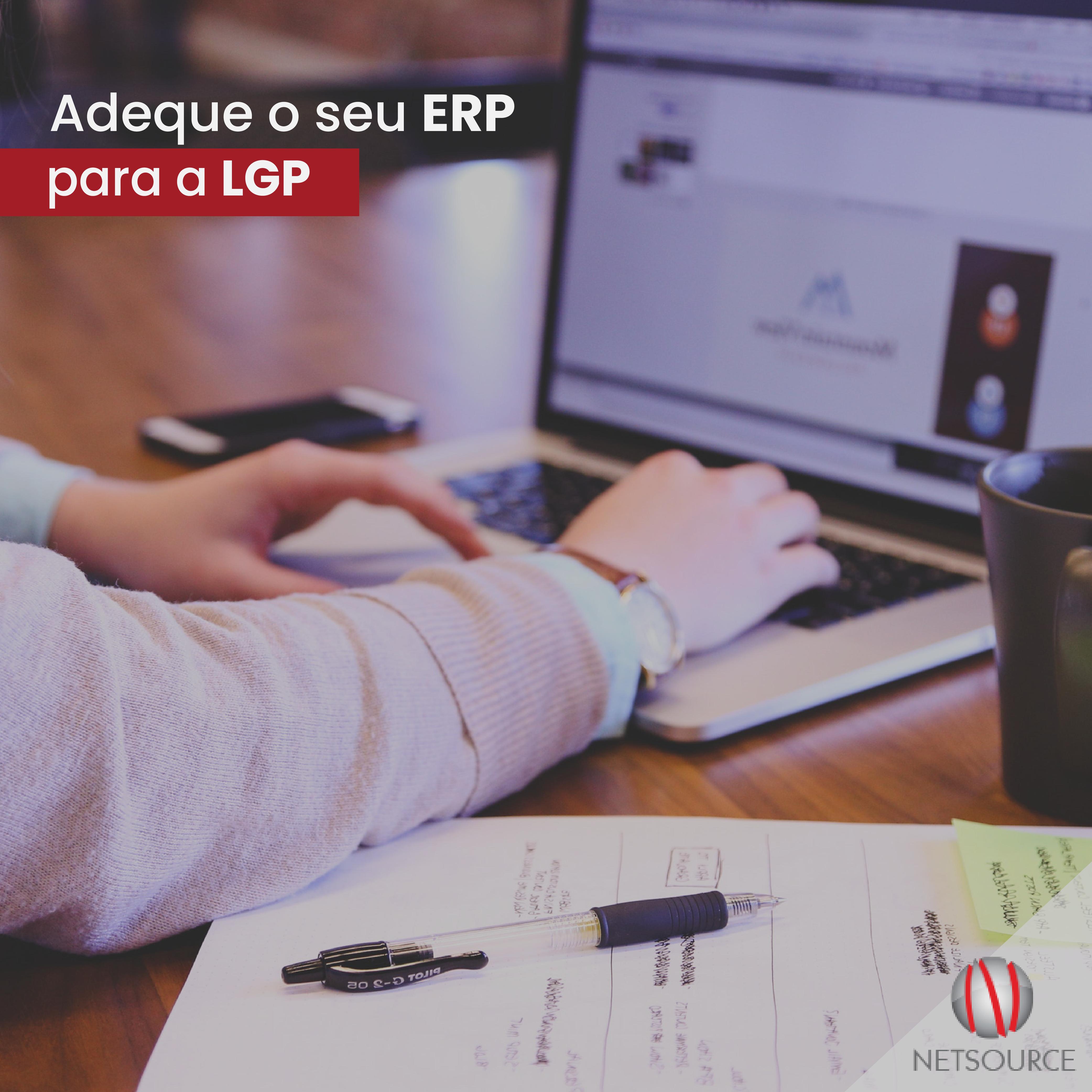 Adequação ERP a LGPD